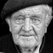 Portrait de Roger Lescanne réalisé par Denis Rebadj le 8 août 2016.