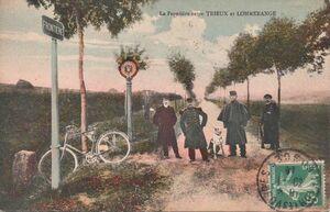 Frontière 14 18 Lommerange Trieux