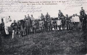 2021 09 12 Avion français abattu le 13 09 1915