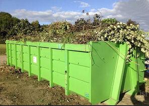 Benne à déchets verts 2021 09 13